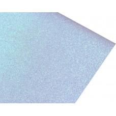 Блестящий фетр, цвет голубой