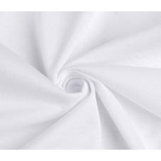 Габардин ткань, цвет-белый