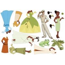 "Фетр с рисунком ""Принцесса и лягушка"" (мультфильм)"