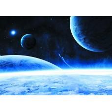 Космос атмосфера (Печать на ткани)