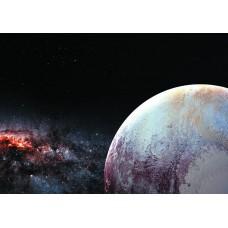 Космос кусок планеты (Печать на ткани)