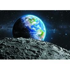 Космос земля (Печать на ткани)