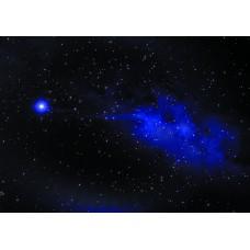 Космос звезда (Печать на ткани)