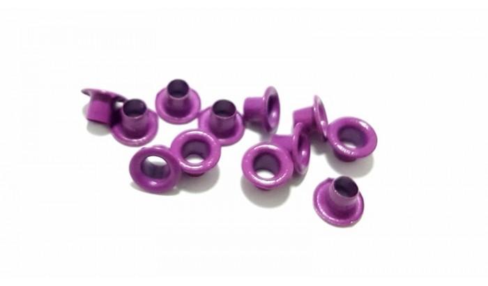 Люверсы цветные, 1 шт. Ярко-фиолетовый