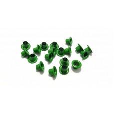 Люверсы цветные, 1 шт. Зеленые