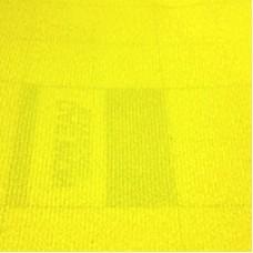 Велкроткань на клеевой основе, желтая, Корея
