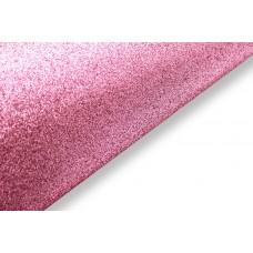 Блестящий фетр, цвет розовый