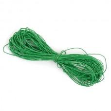 Шнур вощеный зеленый 1 метр