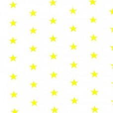 "Ткань натуральный хлопок ""Желтые звезды"""