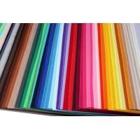 Корейский жесткий фетр 1,2 мм. набор 120 цветов.