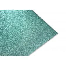 Блестящий фетр, цвет бирюзовый