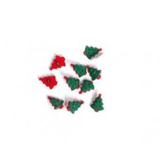 Новогодняя елочка, набор 10 шт