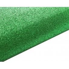 Блестящий фетр, цвет зеленый