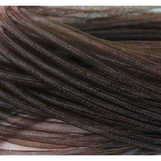 Шнур сетка нейлоновая, коричневая