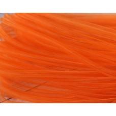 Шнур сетка нейлоновая, оранжевая