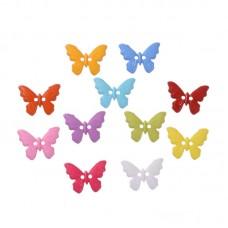 Бабочки акриловые, 10 шт.