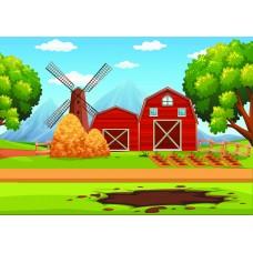 "Печать рисунка ""Ферма"" 02"