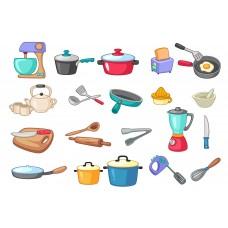 """Сублимационная печать """"Кухонные предметы"""""""