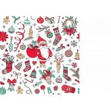 """Фетр с рисунком """"Новый год"""" 5"""