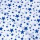 """Детский хлопок ткань """"Синие звезды"""""""