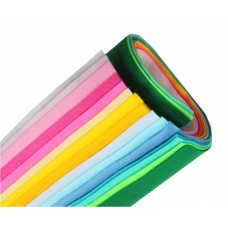 Мягкий фетр 1 мм, набор 15 цветов