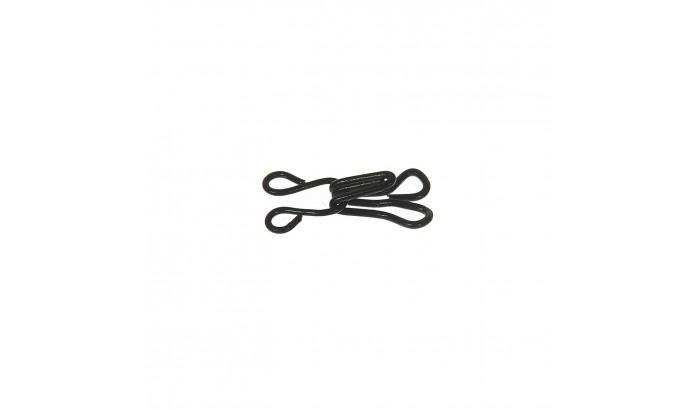 Крючок пришивной, 1 шт. черный