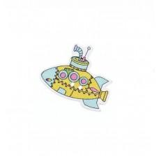 Пуговица подводная лодка, 1 шт.