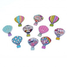 Пуговица Воздушный шар, 1 шт.