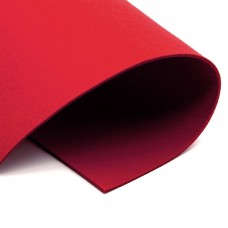 Корейский фетр 2 мм, красный