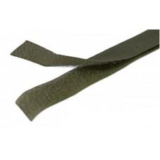 Липучка (велкро) хаки 25 мм, 1 метр