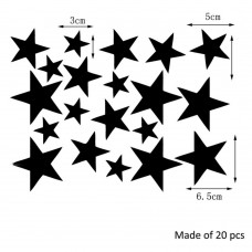 Акриловое зеркало звездочка