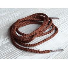 Шнурок коричневый