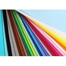 Корейский жесткий фетр, набор 30 цветов