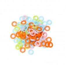Пластмассовые кольца 15 мм, набор