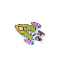 Пуговица Ракета, 1 шт.