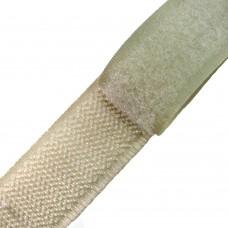 Липучка (велкро) кремовая 20 мм, 1 метр