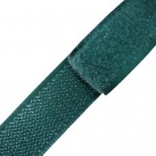 Липучка (велкро) темно-зеленая 20 мм, 1 метр