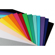 Жесткий корейский фетр 1,2 мм. набор 15 цветов. 15*20 см