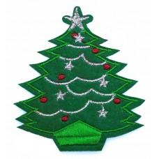 """Термоаппликация """"Новогодняя елка"""""""
