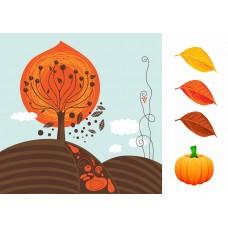 """Печать рисунка """"Страничка Осень"""""""
