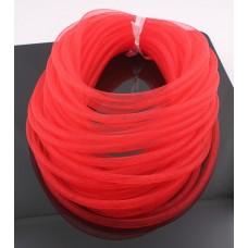 Шнур сетка нейлоновая, красная
