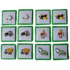 Мемори для детей -Машинки