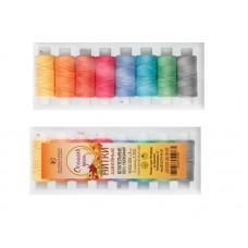 Набор швейных ниток 8 цветов