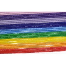 Шнур -резинка 1 мм, набор 9 цветов