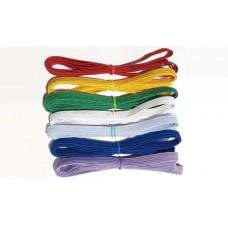 Тесьма резинка, набор 7 цветов