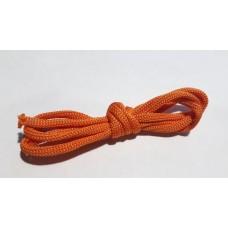 Шнур вязаный оранжевый