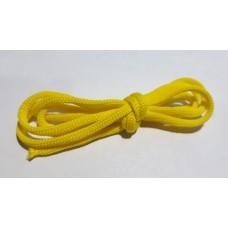Шнур вязаный желтый