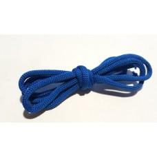 Шнур вязаный синий