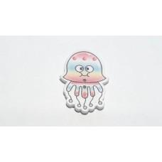 Пуговица медуза, 1 шт.