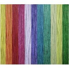 Шнур вощеный, набор 11 цветов